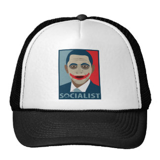 Anti-Obama Joker Socialist Trucker Hat