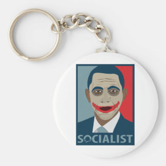 Anti-Obama Joker Socialist Keychains