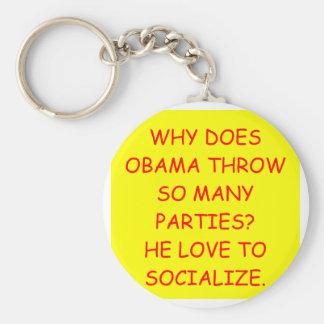 anti obama keychain