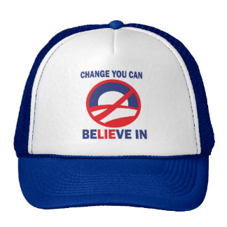 Anti Obama Lies Tea Party Movement Hat