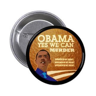 Anti-Obama Murder INc. 6 Cm Round Badge