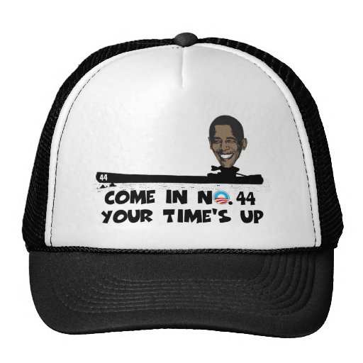 Anti Obama no.44 Hats