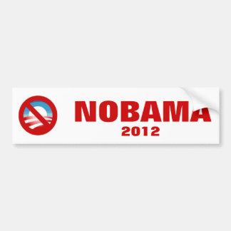 Anti Obama - NOBAMA Bumper Sticker