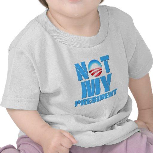 Anti Obama Not My President Shirt