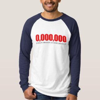 Anti-Obama - Obama Accomplishments 2 T Shirts