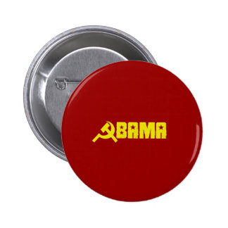 Anti-Obama - Obama is a Communist 6 Cm Round Badge