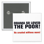 Anti Obama Pinback Buttons