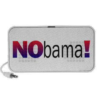 Anti Obama Political Doodle Portable Speaker