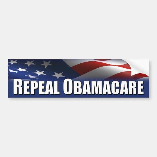 Anti Obama - Repeal OBAMACARE Bumper Sticker