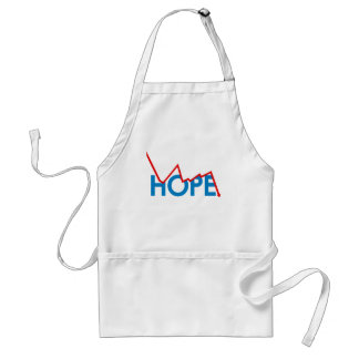 Anti-Obama - Shattered Hope Adult Apron