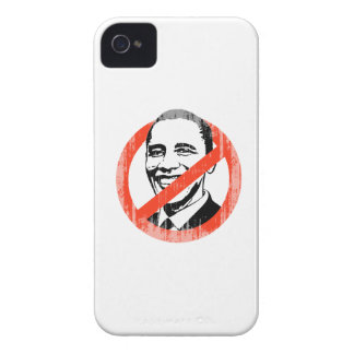 ANTI OBAMA SLOGAN Faded.png iPhone 4 Case