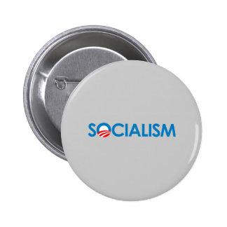 Anti-Obama - Socialism 6 Cm Round Badge