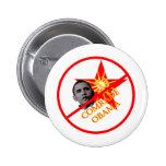 Anti-Obama Socialism 6 Cm Round Badge