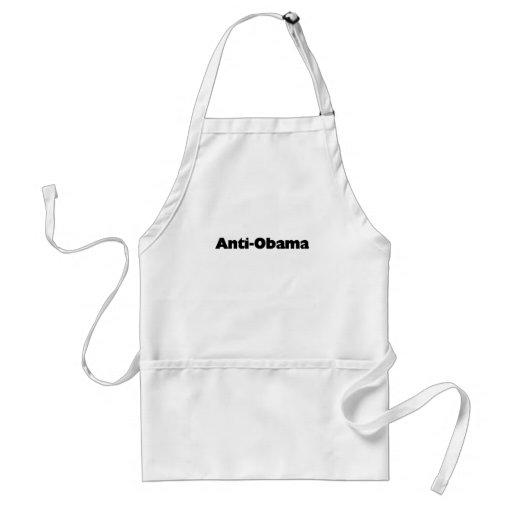 Anti - Obama T-shirt and gift design Apron