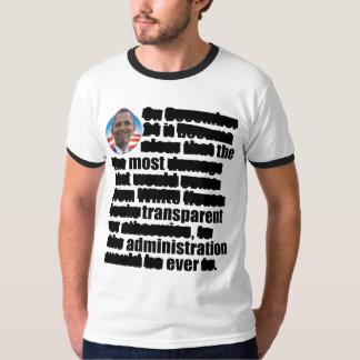 Anti Obama Transparent - Election 2012 T-Shirt