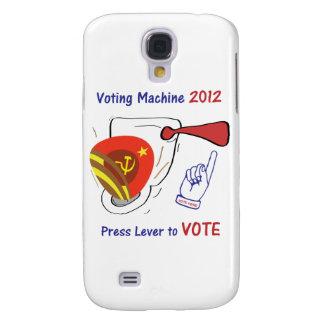 Anti Obama Voting Machine Light Background Samsung Galaxy S4 Cases