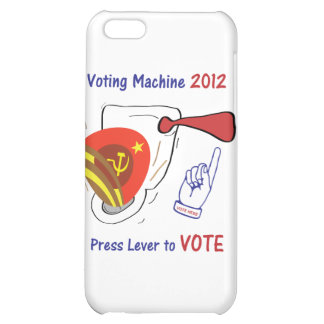 Anti Obama Voting Machine Light Background Cover For iPhone 5C