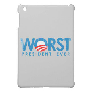ANTI-OBAMA - WORST PRESIDENT EVER- Faded.png iPad Mini Cases