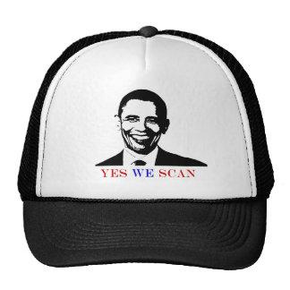 anti obama 'yes, we scan' hat