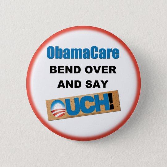Anti ObamaCare 6 Cm Round Badge
