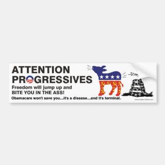 Anti-Obamacare Freedom sticker Bumper Sticker