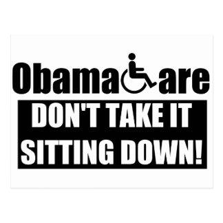 Anti ObamaCare Postcard