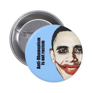 Anti-Obamunism is not racism 6 Cm Round Badge