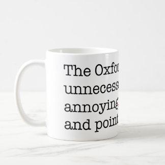 Anti-Oxford Comma Coffee Mug