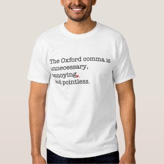 Anti-Oxford Comma T-shirt