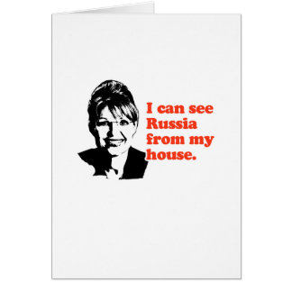 ANTI-PALIN / I can see Russia from my house Card