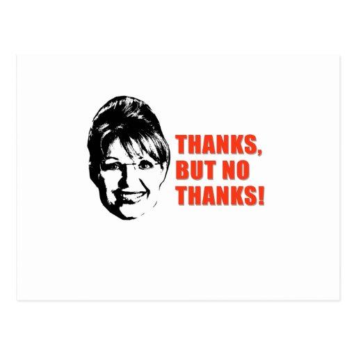 Anti-Palin Postcard
