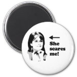 ANTI-PALIN / She scares me Magnets