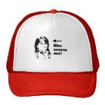 ANTI-PALIN / She scares me Trucker Hat