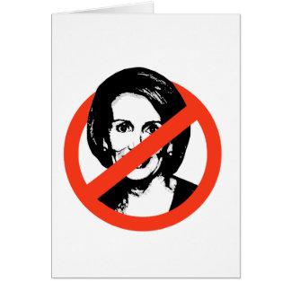 Anti-Pelosi / Anti-Nancy Pelosi Greeting Card