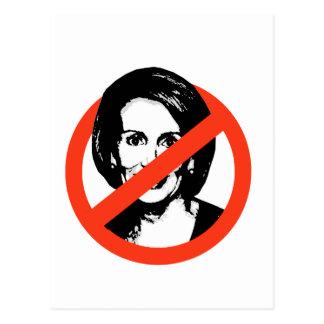 Anti-Pelosi / Anti-Nancy Pelosi Postcard