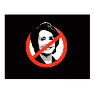 Anti-Pelosi - Anti-Nancy Pelosi Postcard