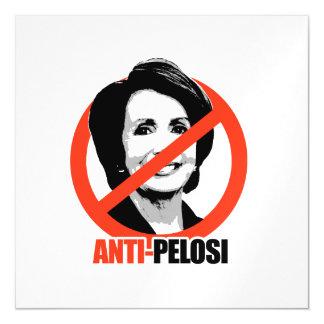 Anti-Pelosi Magnetic Invitations