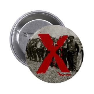 Anti-Posse II 6 Cm Round Badge