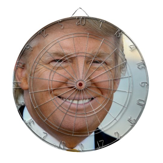 Anti President Donald Trump Dartboard