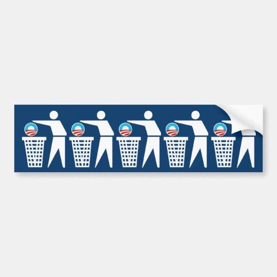 Anti President Obama Bumper Sticker