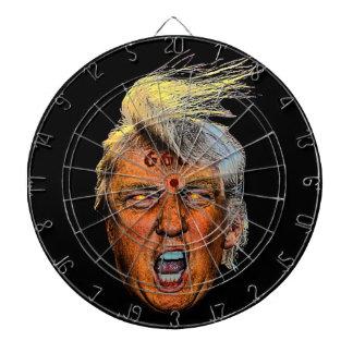 Anti President Trump Big Mouth Devil Dartboards