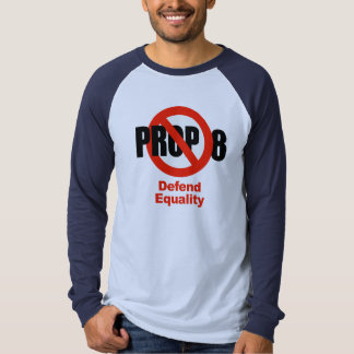 ANTI PROP 8 - Defend Equality T-shirts
