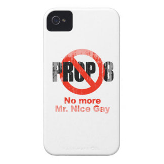 ANTI PROP 8 - No more Mr. Nice Gay Faded.png Case-Mate iPhone 4 Case