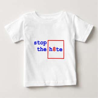 Anti-Proposition 8: stop the h8te Baby T-Shirt