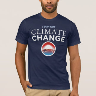 Anti-Protest Obama Parody Climate Change T-Shirt