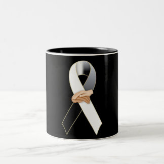 Anti Racism Awareness Ribbon Mug