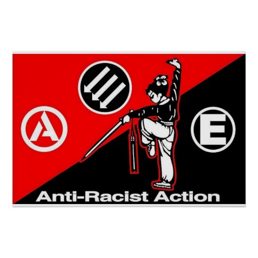 anti-racist action 5 poster