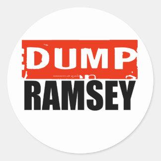 ANTI-RAMSEY ROUND STICKERS