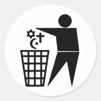 Anti-Religion Sticker