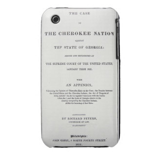 Anti-removal tract, by Cherokee Nation, in reponse iPhone 3 Covers